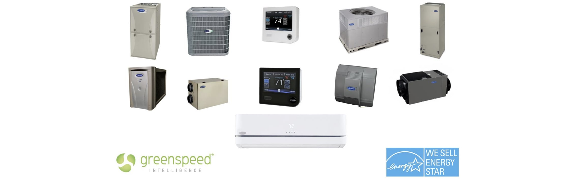 Home Comfort Air Services offers AC repair on all carrier products.