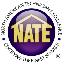 Home Comfort Air Services is NATE Certified to work on your Heat Pump repair in Silver Spring  MD.